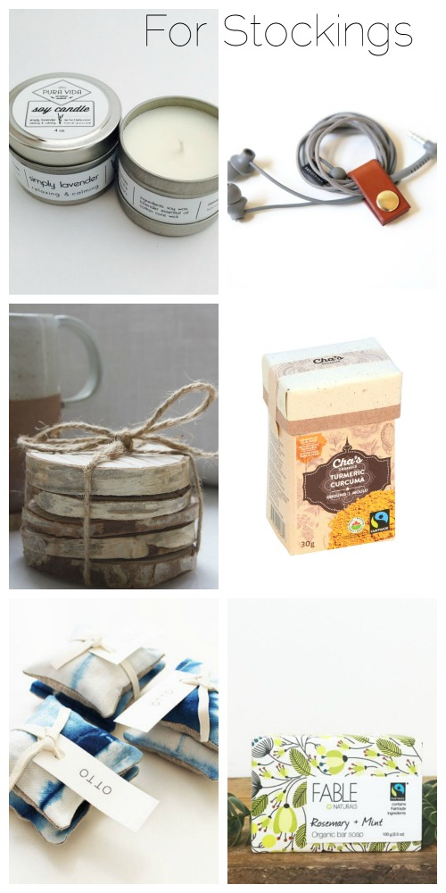 simple, ethical, sustainable stocking stuffers 2016