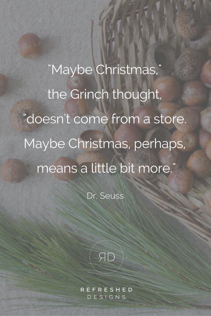 一个简单的圣诞节:如何少买多送