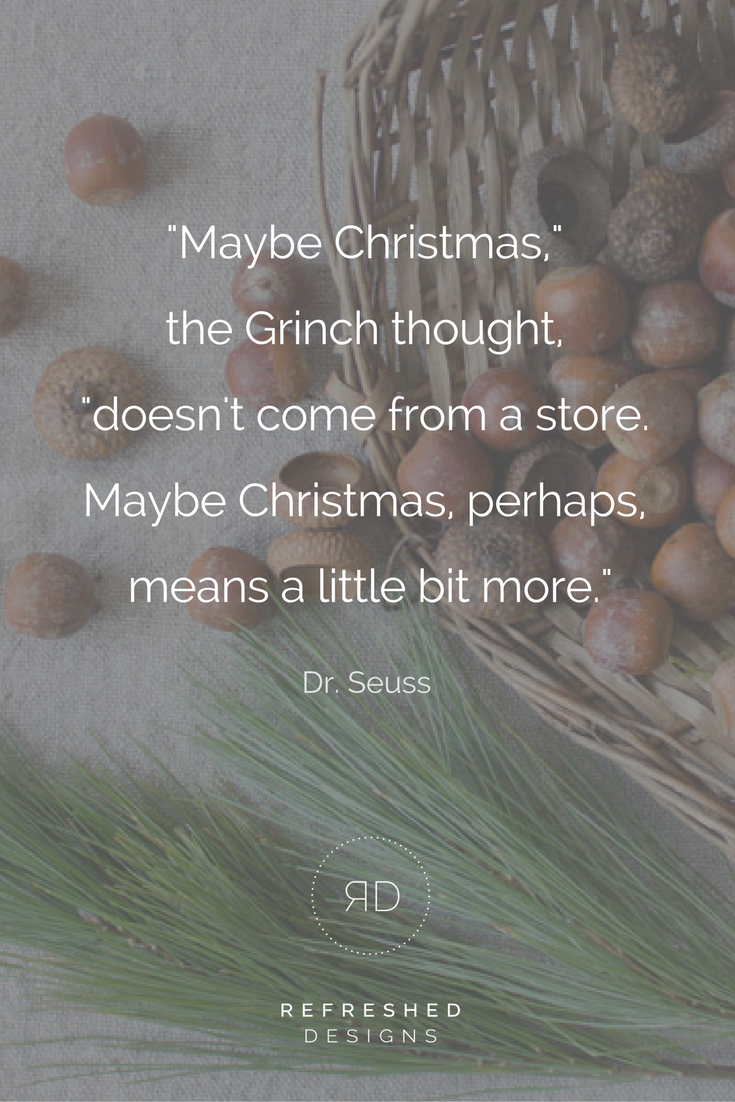 A Simple Christmas: how to buy less but give more
