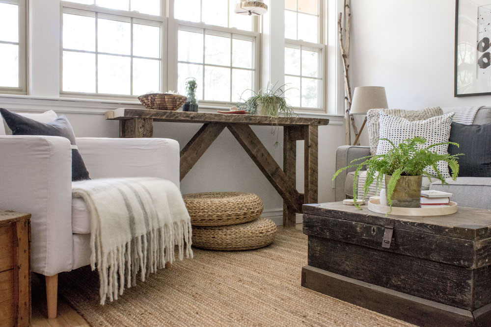 How to layer a room without adding clutter