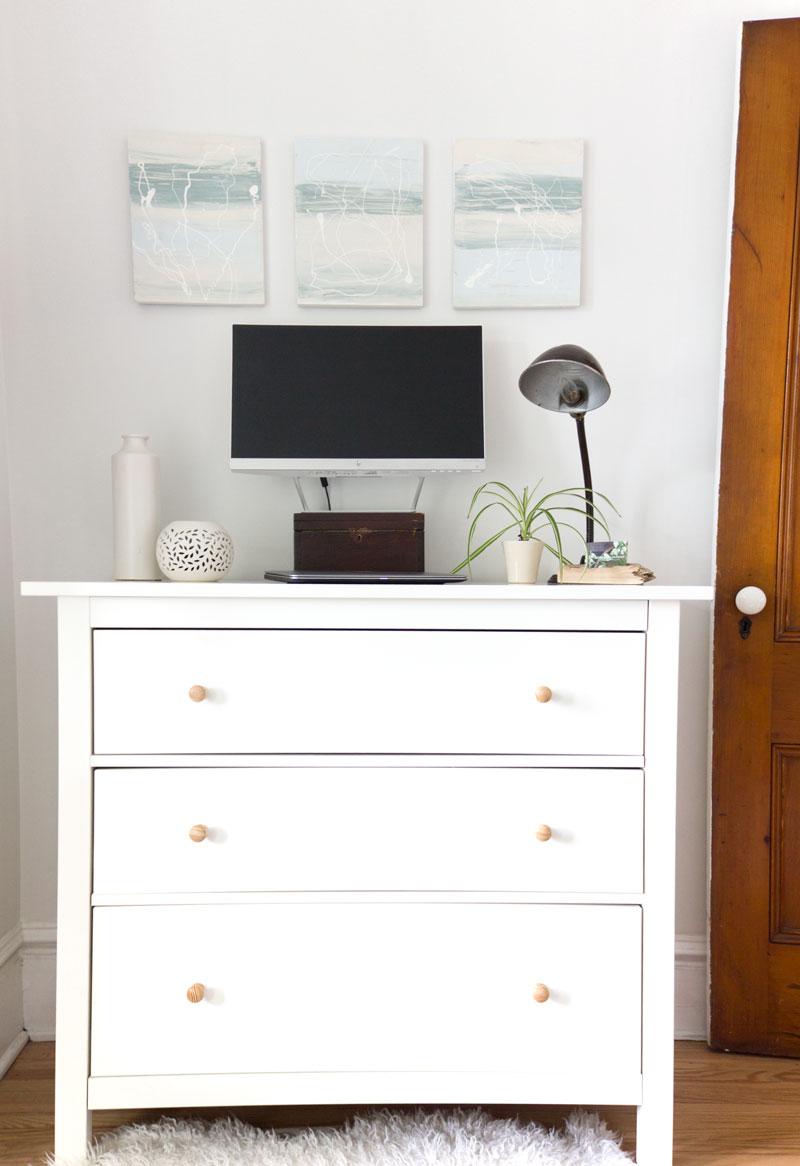 家庭办公室DIY站立式办公桌