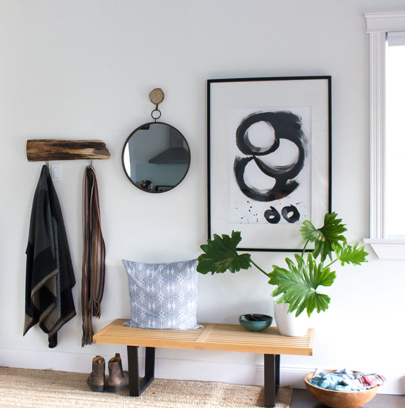 Where to begin simplifying your home: declutter your entryway