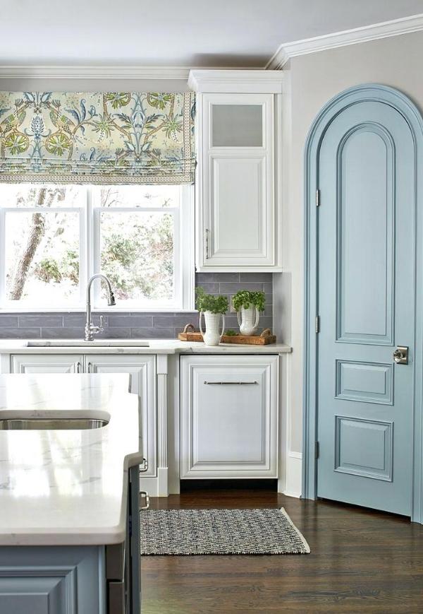 SW Repose Gray kitchen walls- Kandrac & Kole