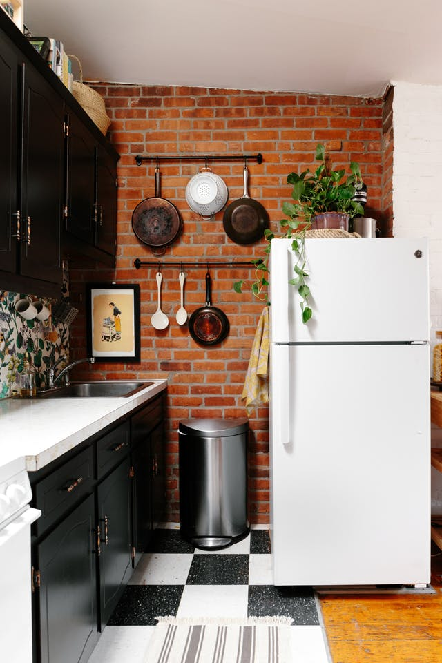 how to decorate on top of the fridge