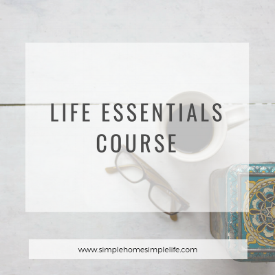 Life Essentials Course - online course in essentialism