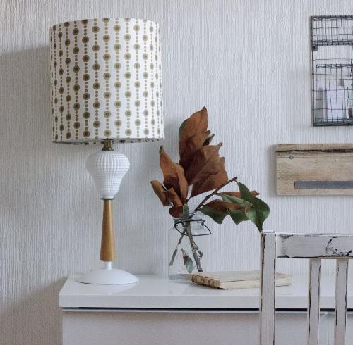 DIY vintage lamp and shade refresh - see tutorial
