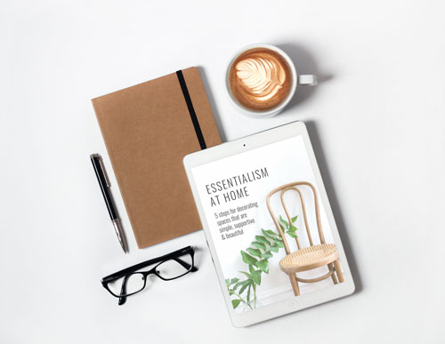essentialism at home guide