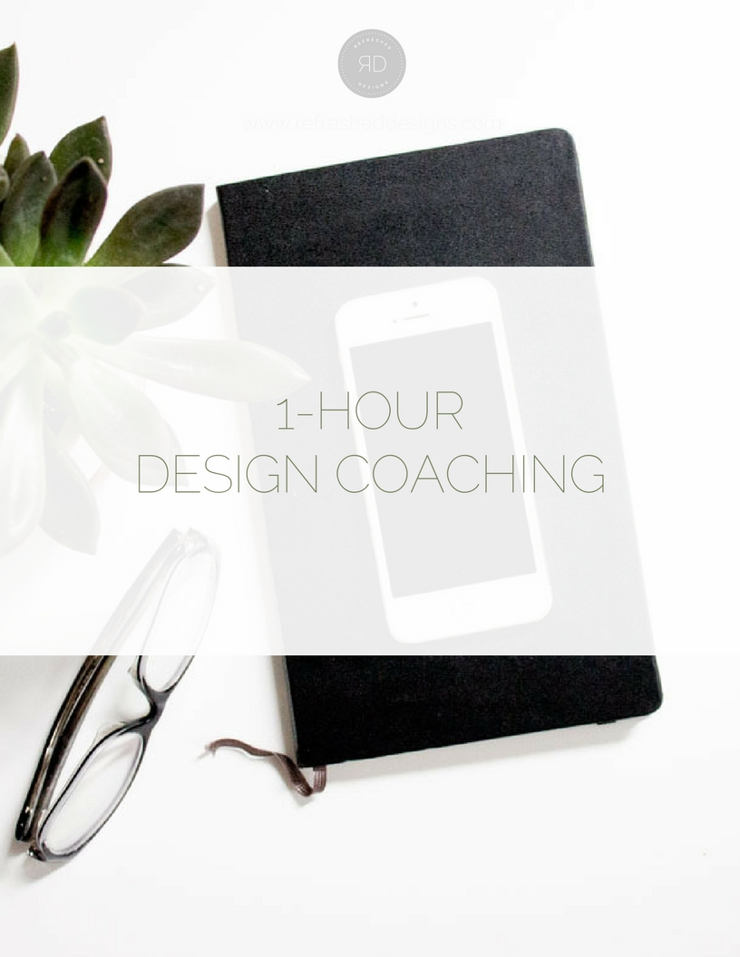 One-Hour Design Coaching