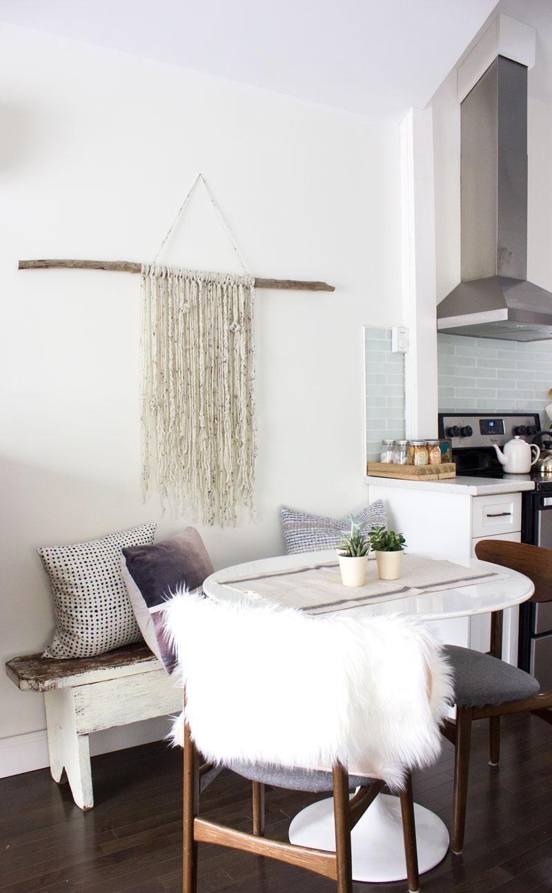 冬季餐台用棍纱壁挂
