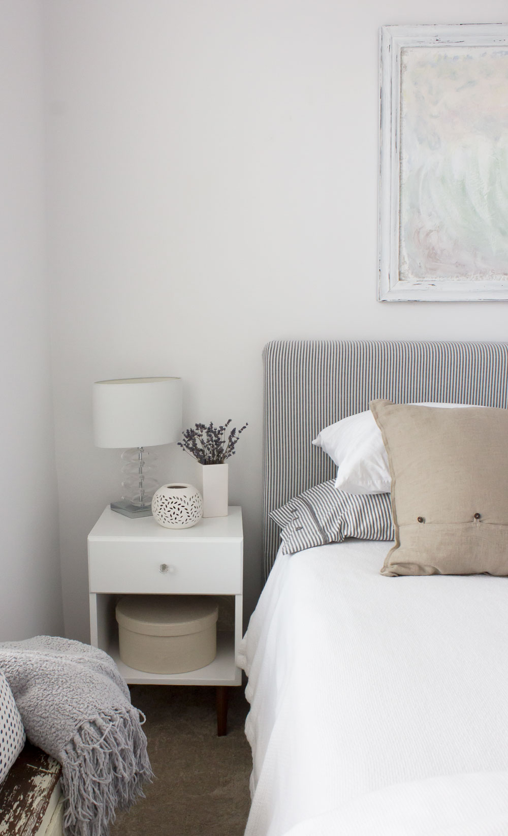 simple bedside table