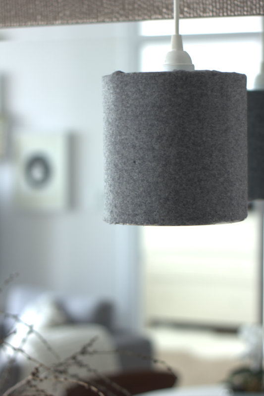 DIY coffee can lamp