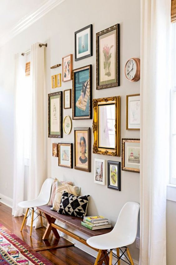 how to group artwork for a more impactful and clutter-free display