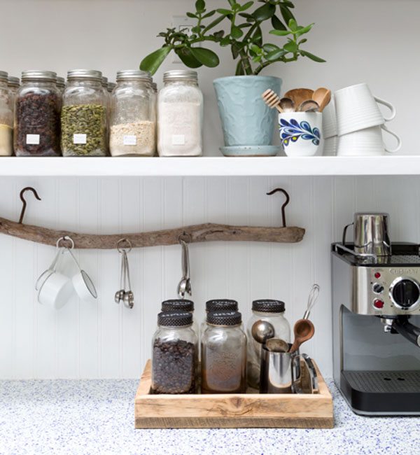 how to set up a home drink station