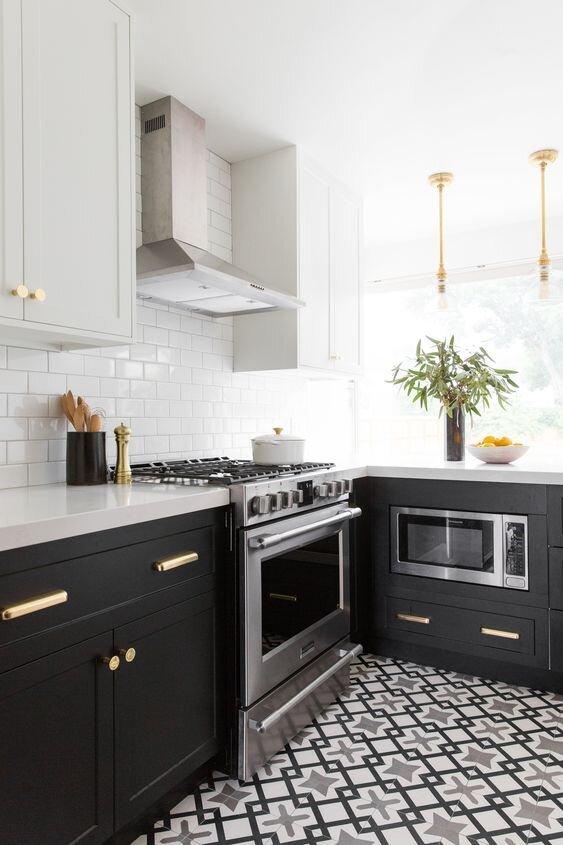 黑白厨房 - 彩绘橱柜.jpg