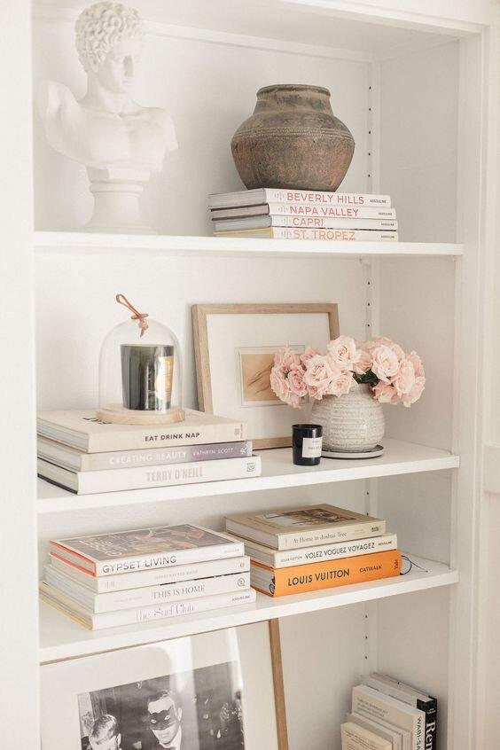 如何设计一个极简主义风格的书架