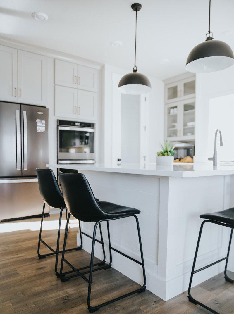 整洁的厨房柜台