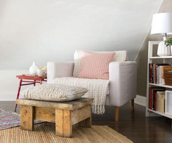 如何在家里创造一个阅读角落