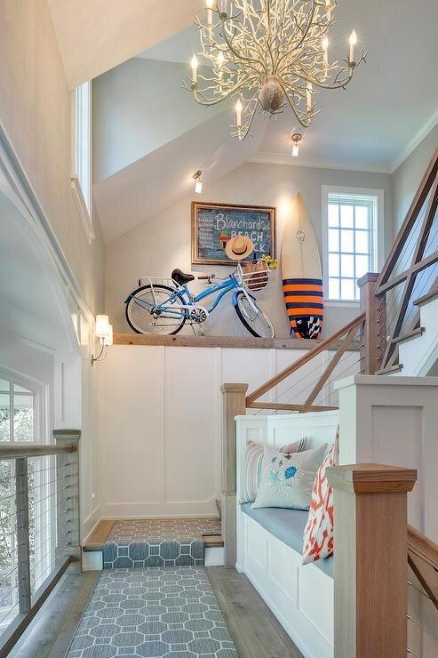 作为家居装饰的复古双风格。jpg
