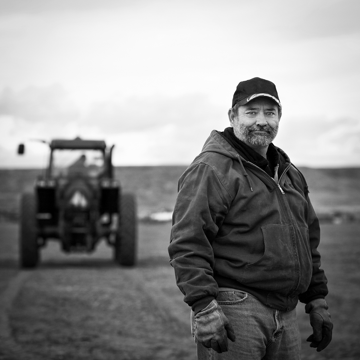 Jerry Faxon, 4th generation farmer.