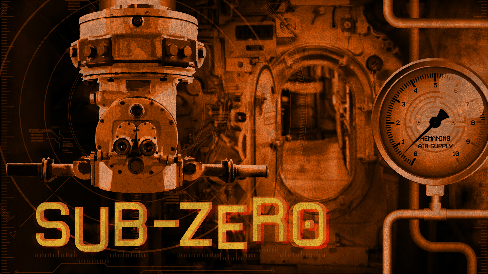 SUB ZERO - AVAILABLE AT MORRISON STREETThe spy-sub HMS Pandora has been decommissioned after its entire crew was lost during a secret mission. Evidence of its previous operations can never fall into enemy hands! Your team needs to use the 60 remaining minutes of life support to dive in, reconfigure the submarine's controls, access the self destruct function, and escape before it's too late. Good luck!
