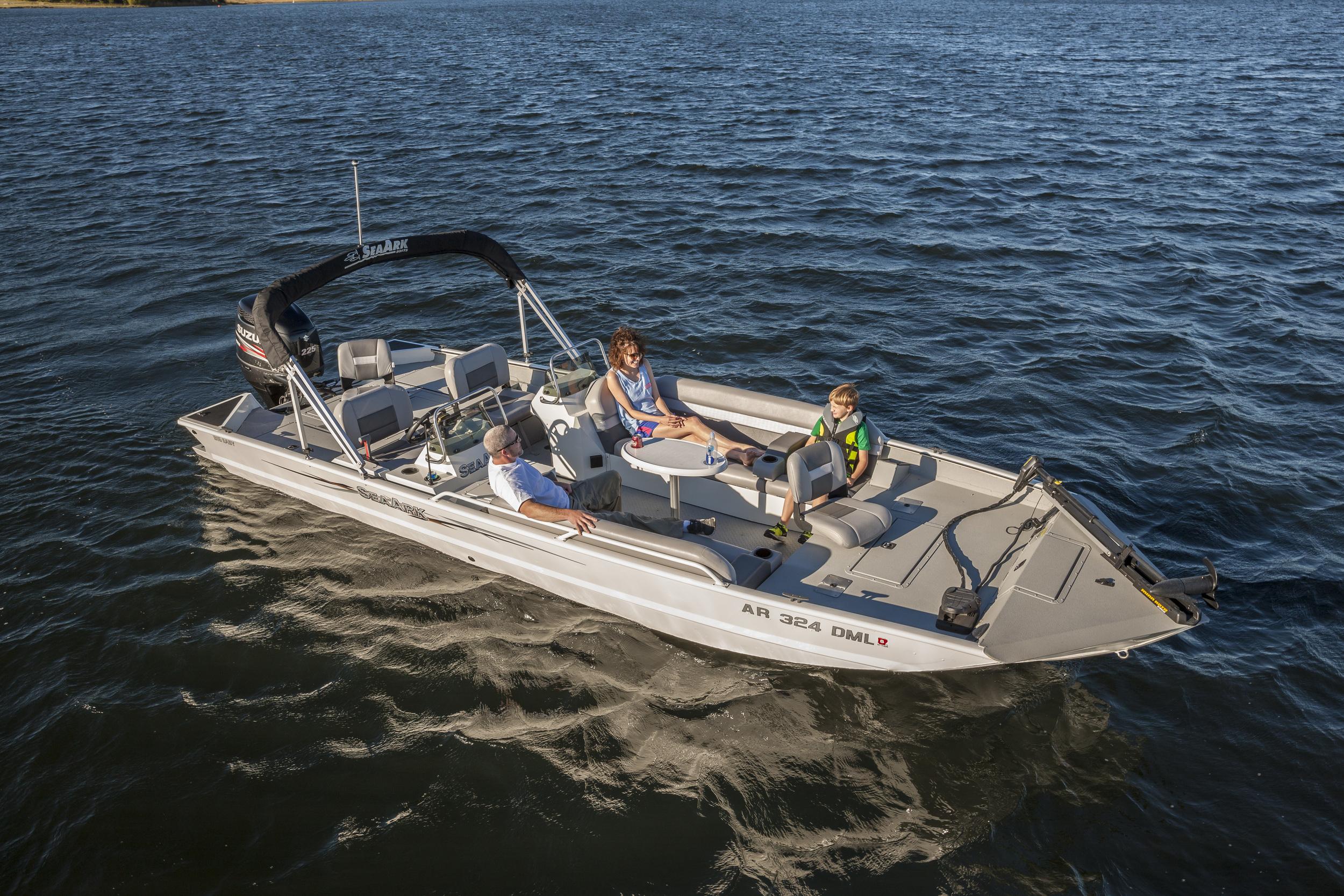 Photos courtesy of Seaark Boats