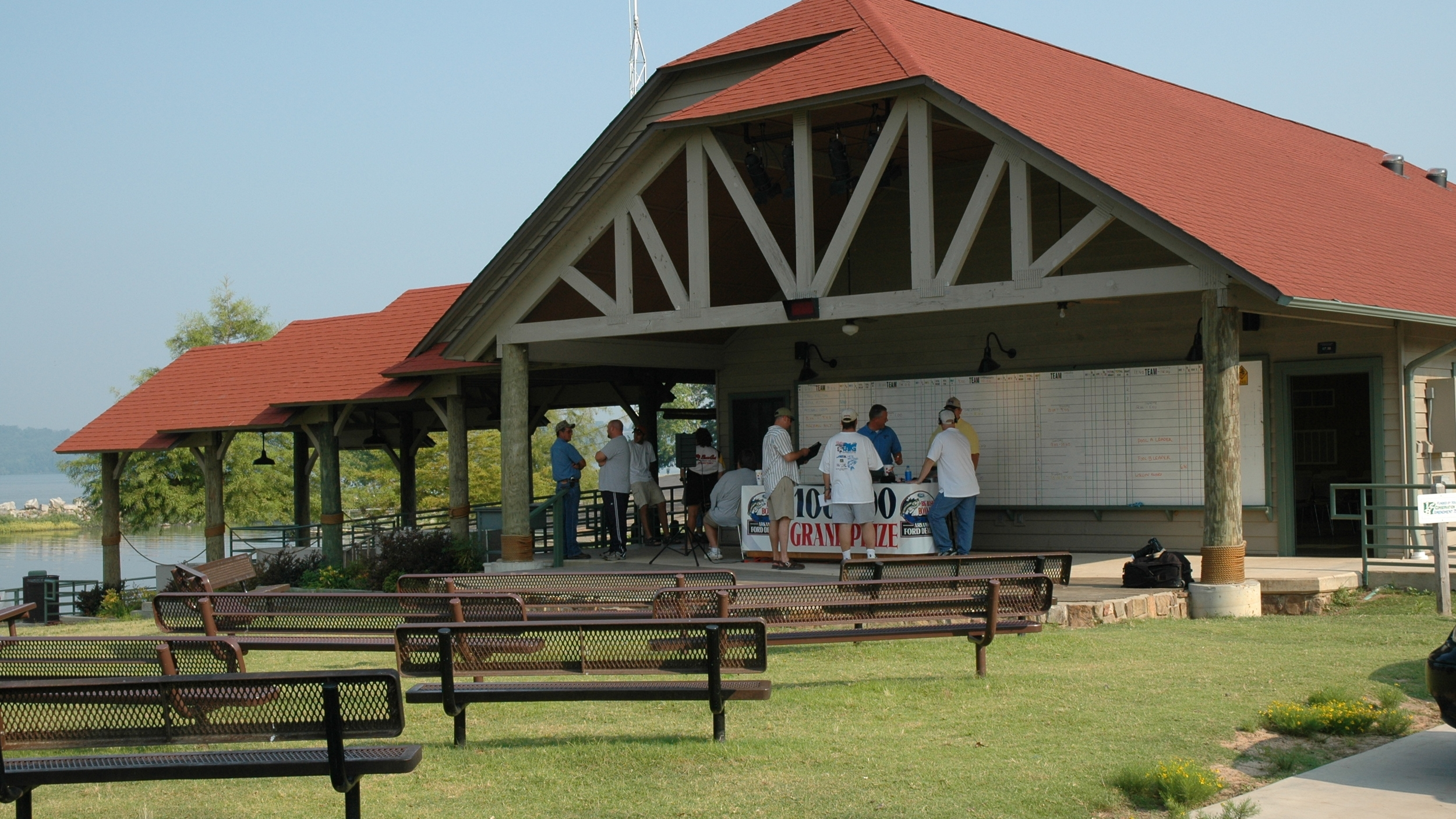 The state-of-the-art tournament venue opened in 2002, and accommodates big events like the Big Bass Bonanza.