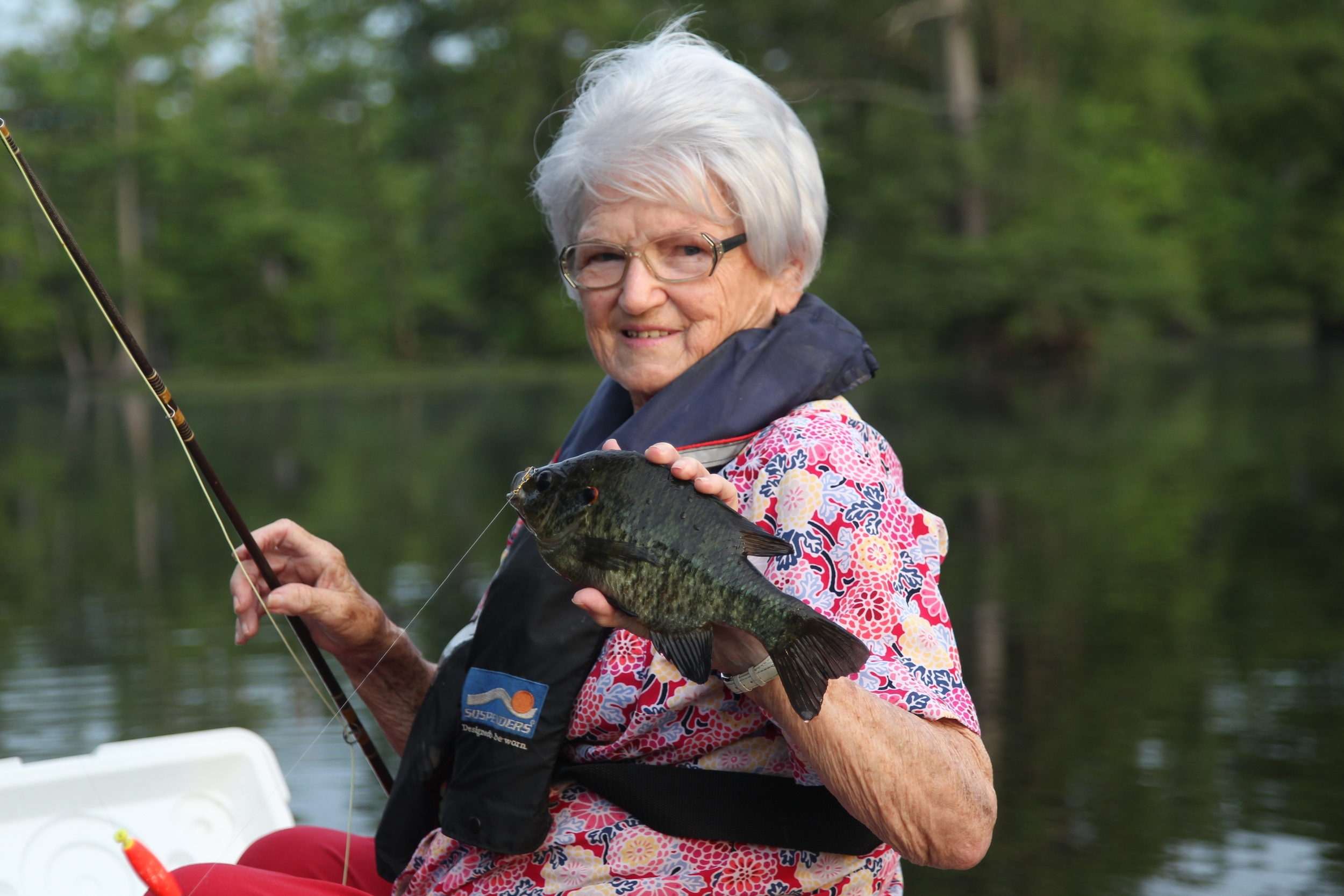 Bream fishing near Little Rock is a great way to enjoy the day.