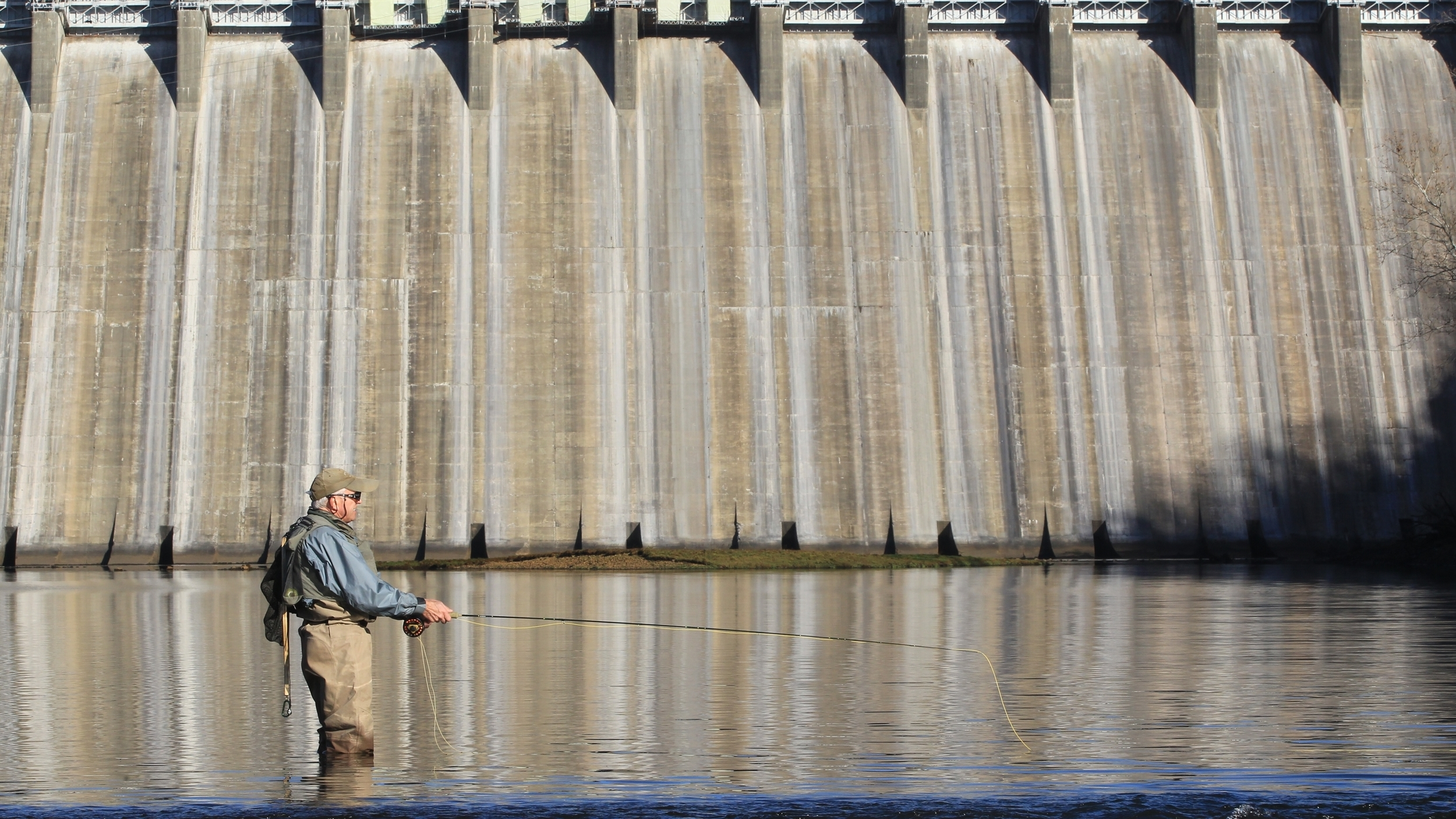 The best walk-in access points on Norfork River are just below the dam.