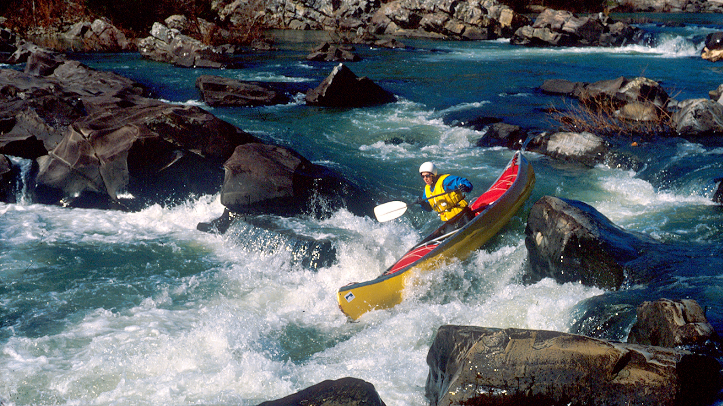 The Cossatot River has some of the state's most challenging rapids.