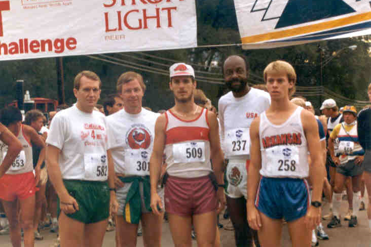 The Arkansas Pikes Peak Marathon society was born out of the 1984 race.