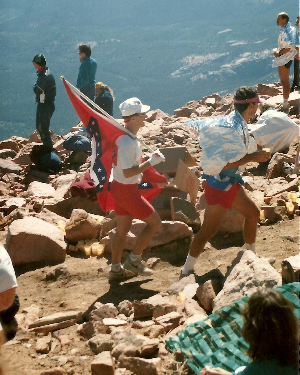 By 1988, carrying an Arkansas flag to the summit was tradition.