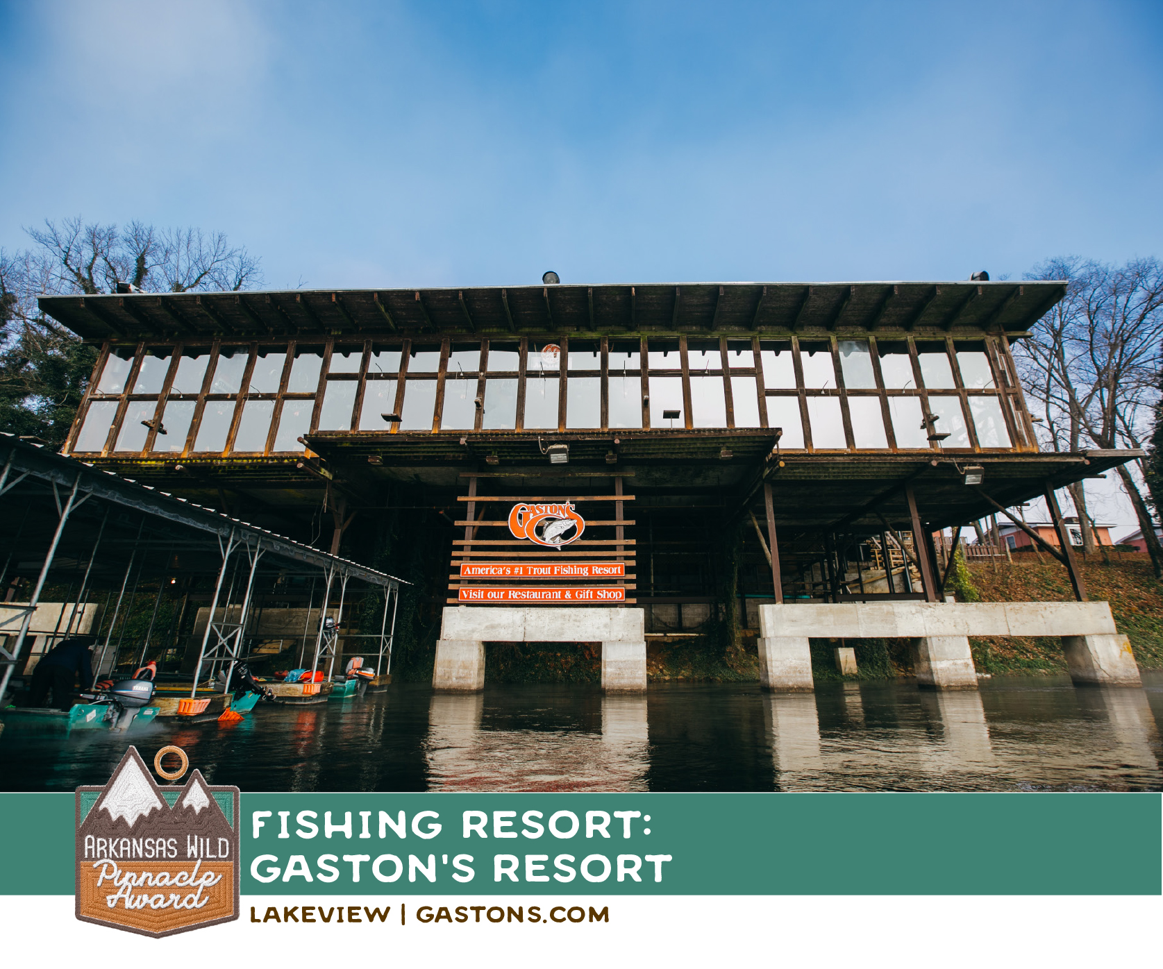 Don't miss Gaston's restaurant! they'll cook your catch right up!