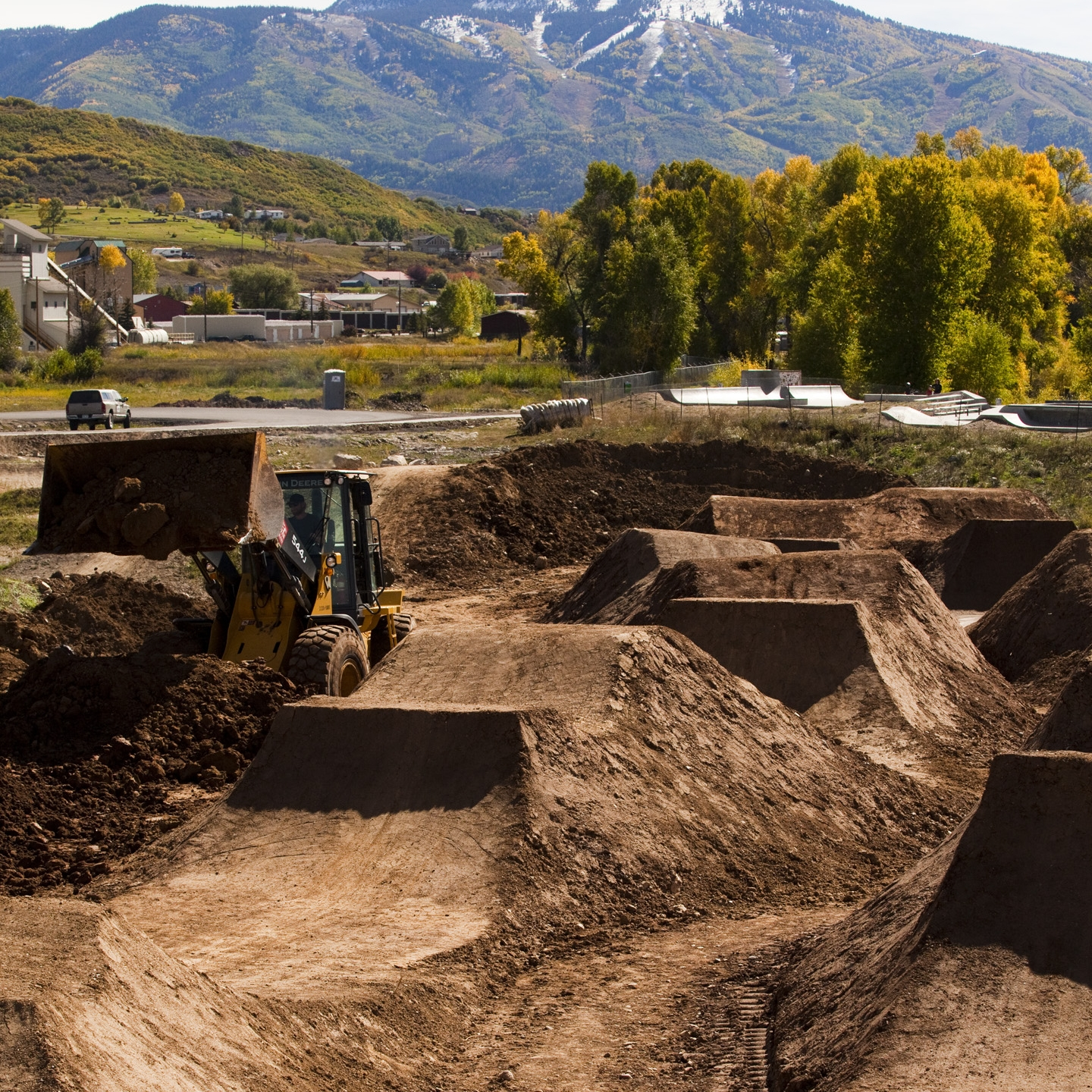 IMBA hopes its Dig In program will allow projects like this bike park in Steamboat Springs, Colorado to happen nationwide.