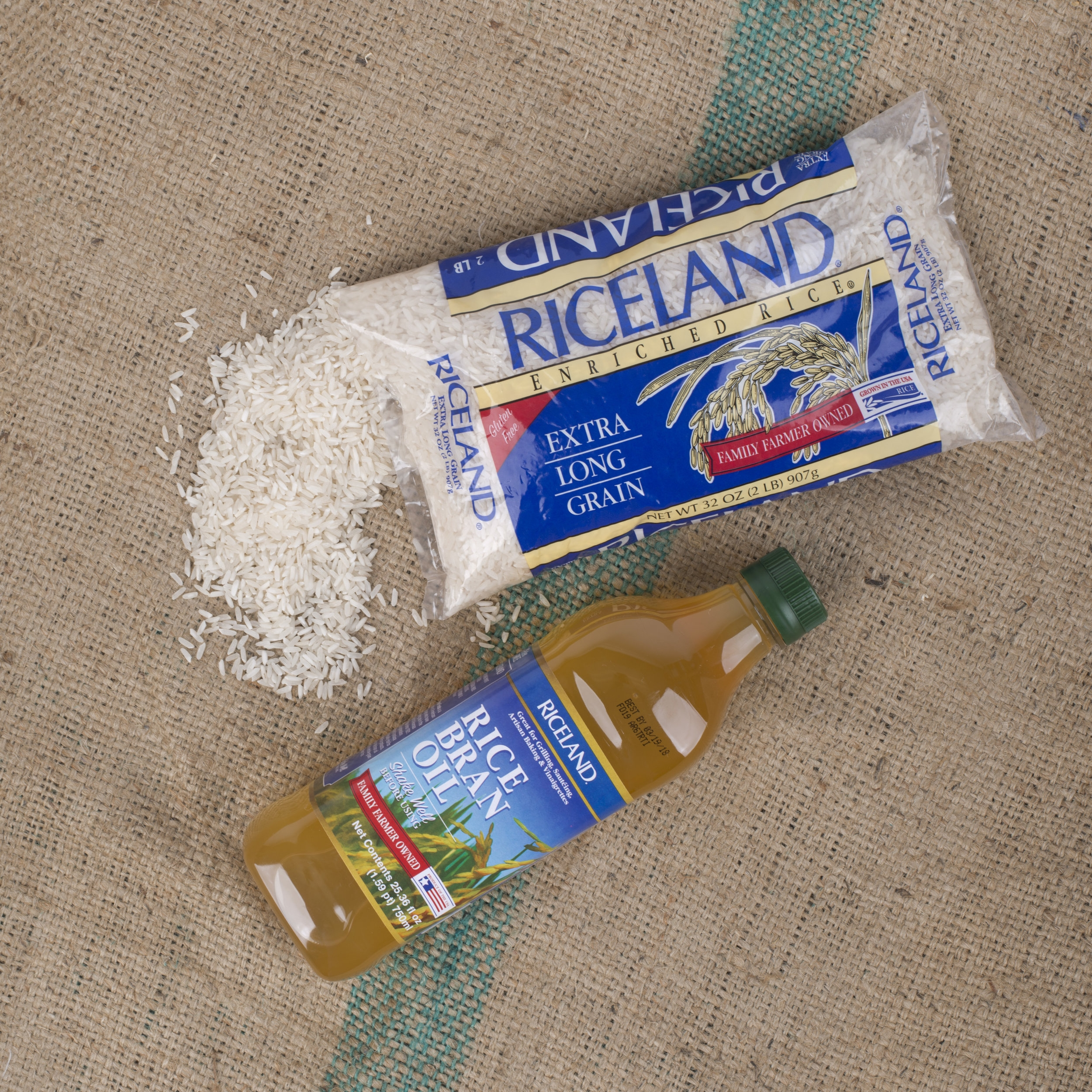 Riceland rice bran oil makes a great Roux