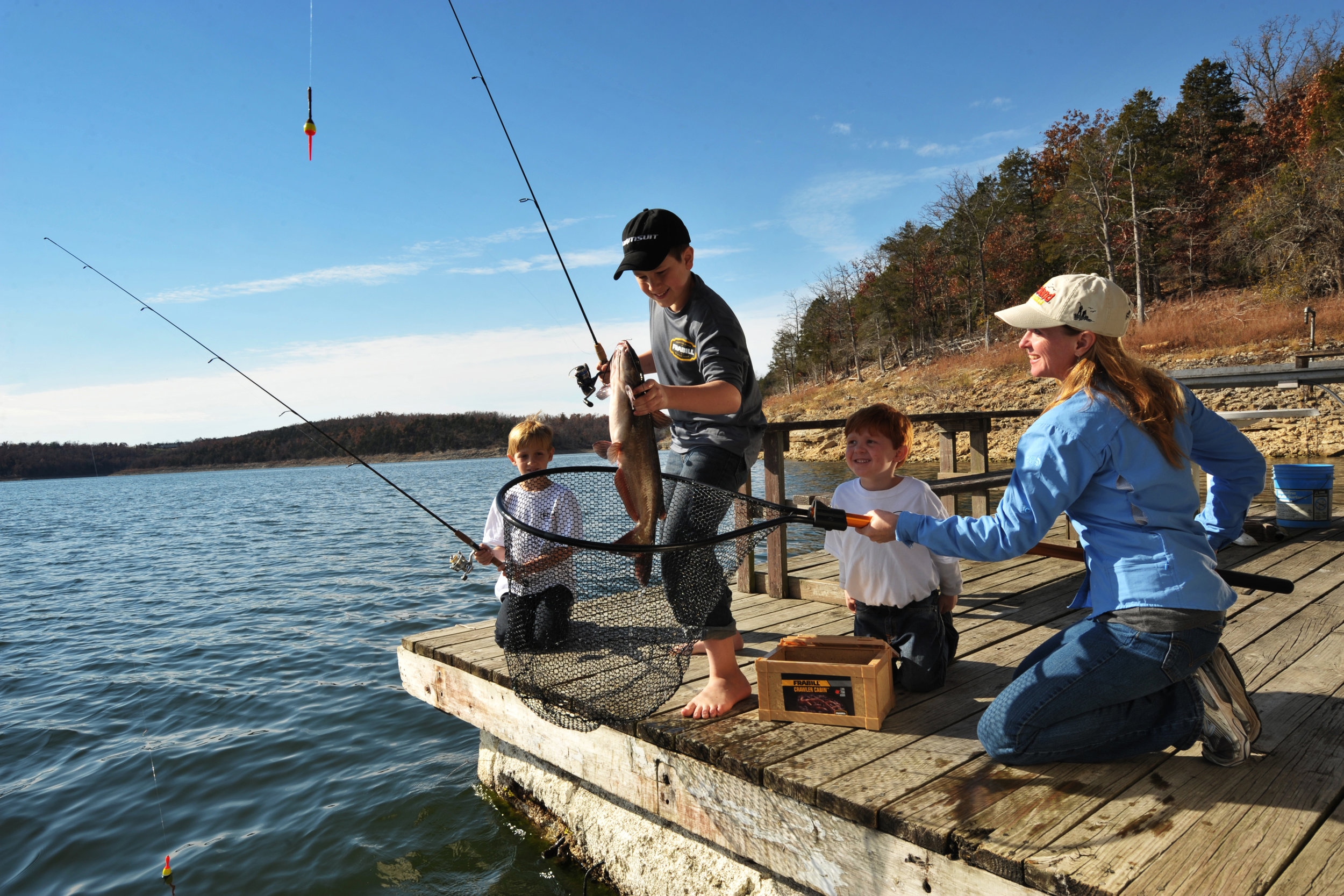 The Community Fishing Program is designed to help families more easily access fishing.