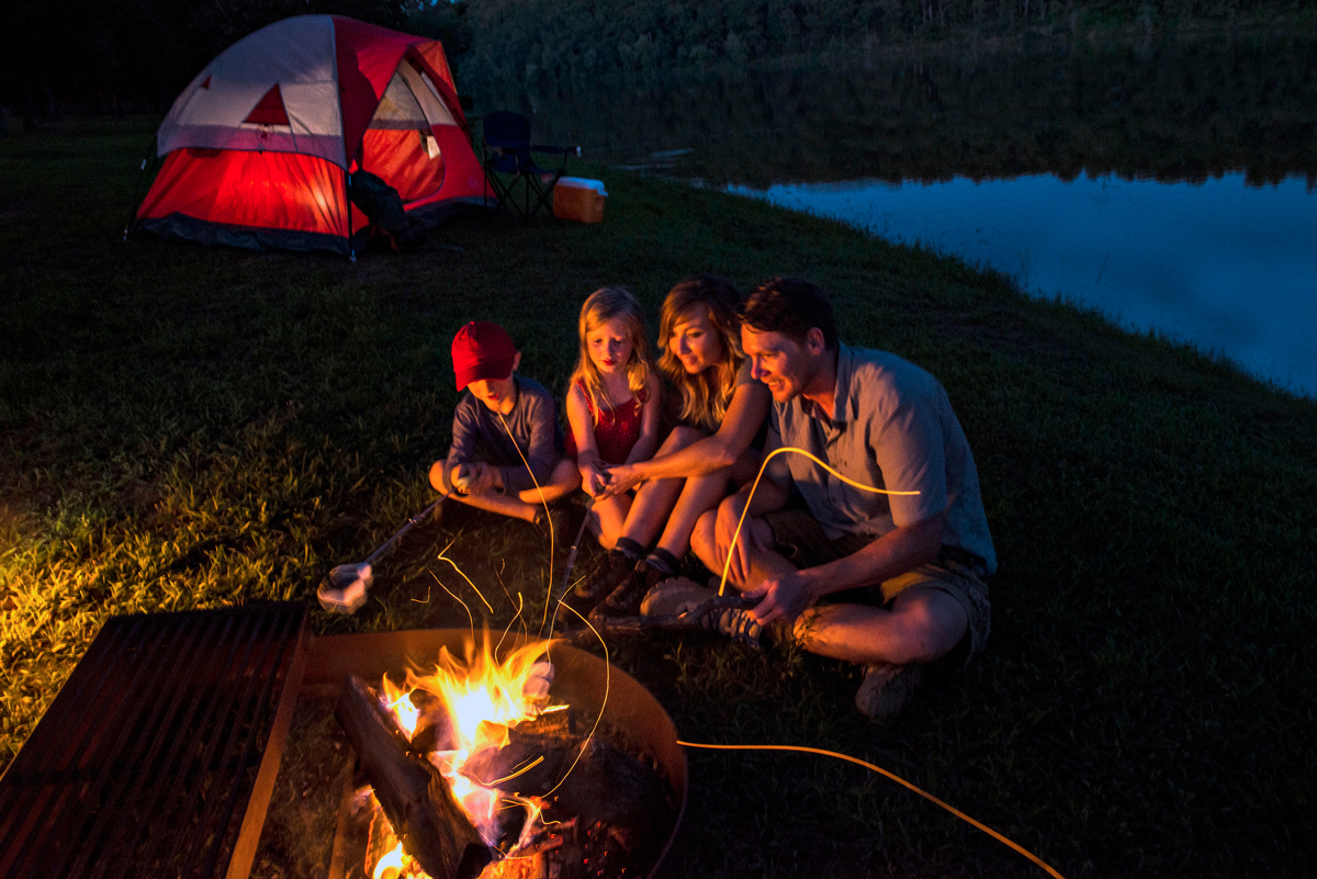 With a little advance planning, kids of any age can enjoy camping with their family and develop a love of the outdoors that can last a lifetime.