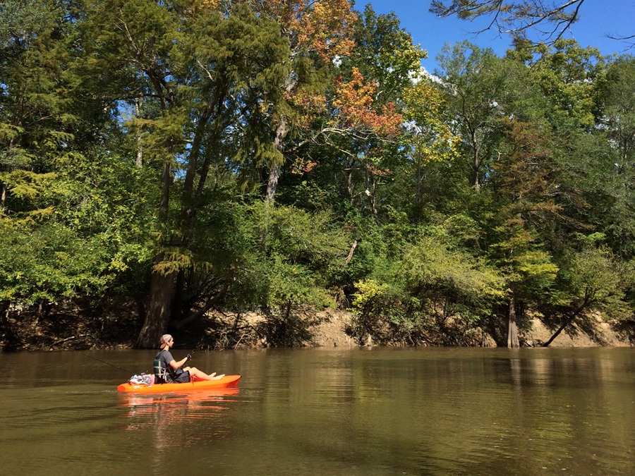 The Saline River provides an easy day's recreation, punctuated by points of interest.