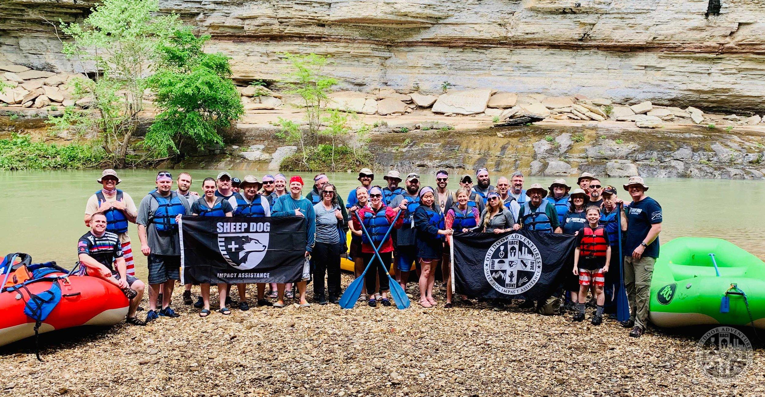 SDIA OA Buffalo group flags rafts 04MAY2019 wm.jpg