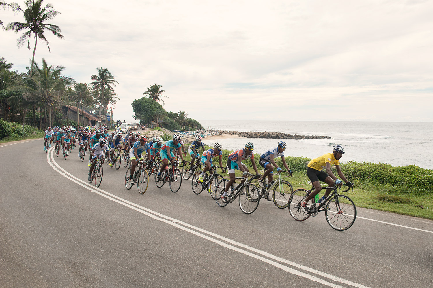 Sri Lanka's inaugural President's Race took place over three days in the run-up to the country's general election. The teams with the most backing were The Air Force, Navy, Army, Police and Ports Authority.