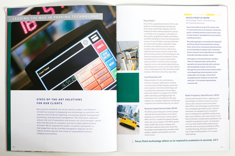 Central Parking Corporate Brochure — Meg Quarton