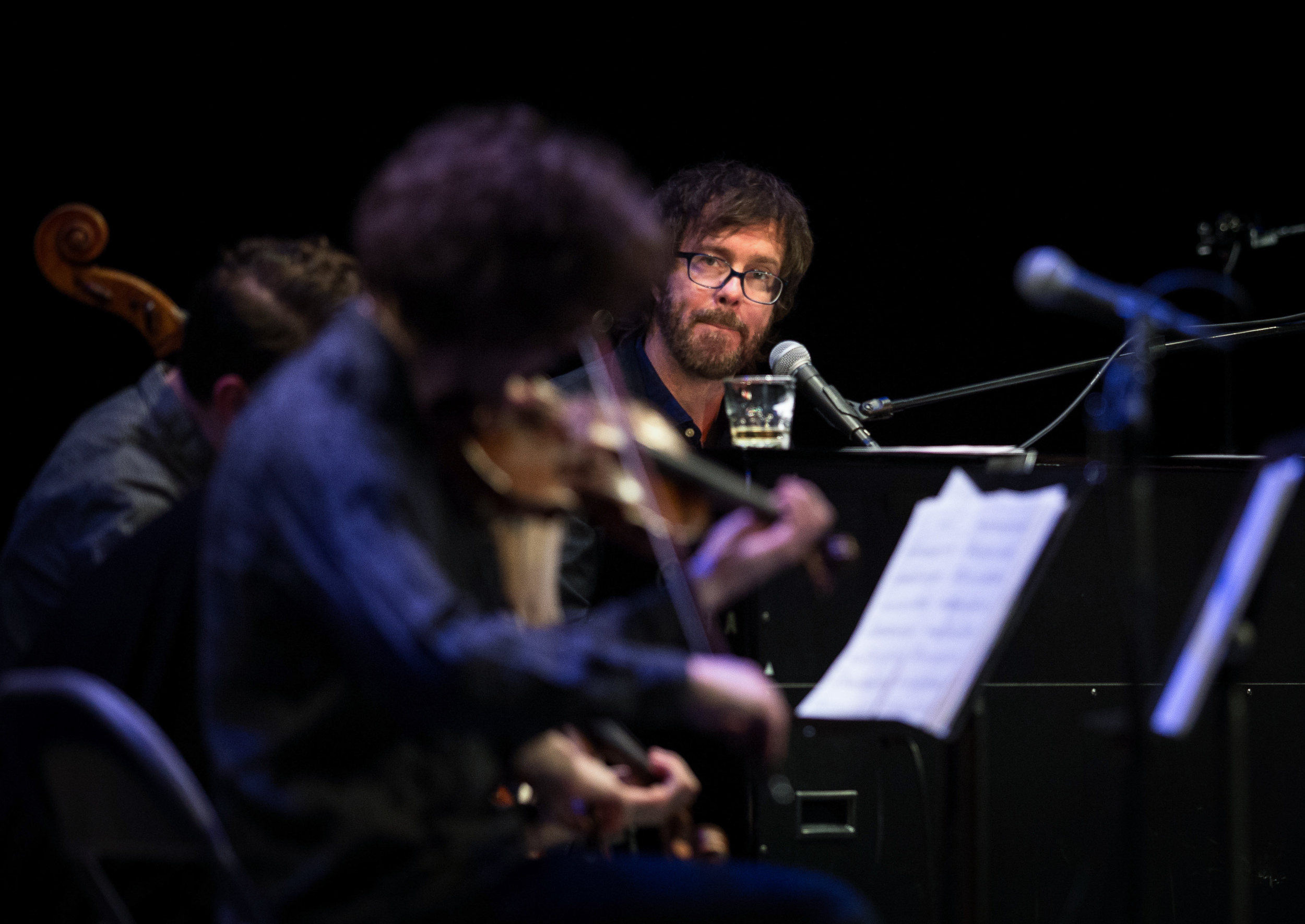 Ben Folds with yMusic at Louisville Palace 2015-3.jpg