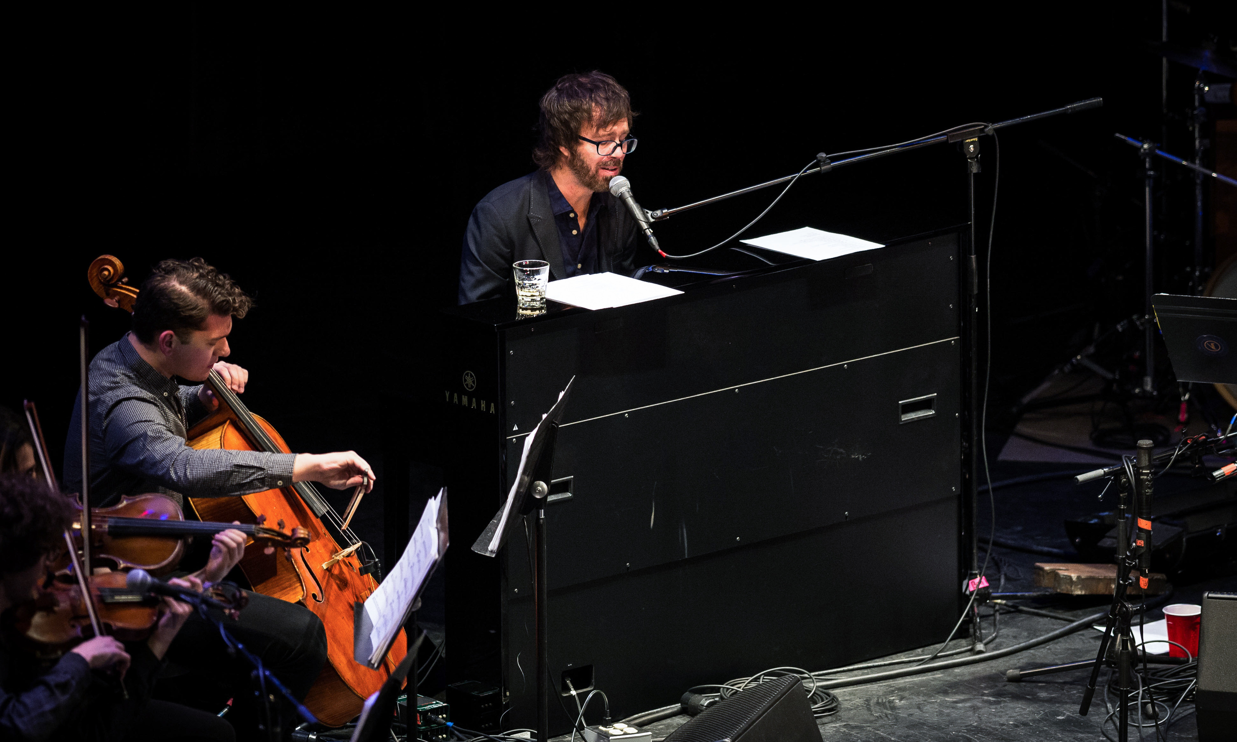Ben Folds with yMusic at Louisville Palace 2015-5.jpg