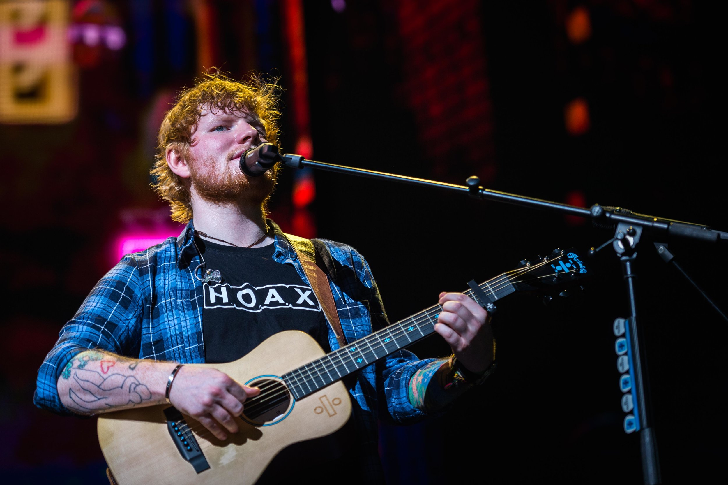 Ed Sheeran James Blunt KFC Yum! Center Sept 7 2017-21.jpg