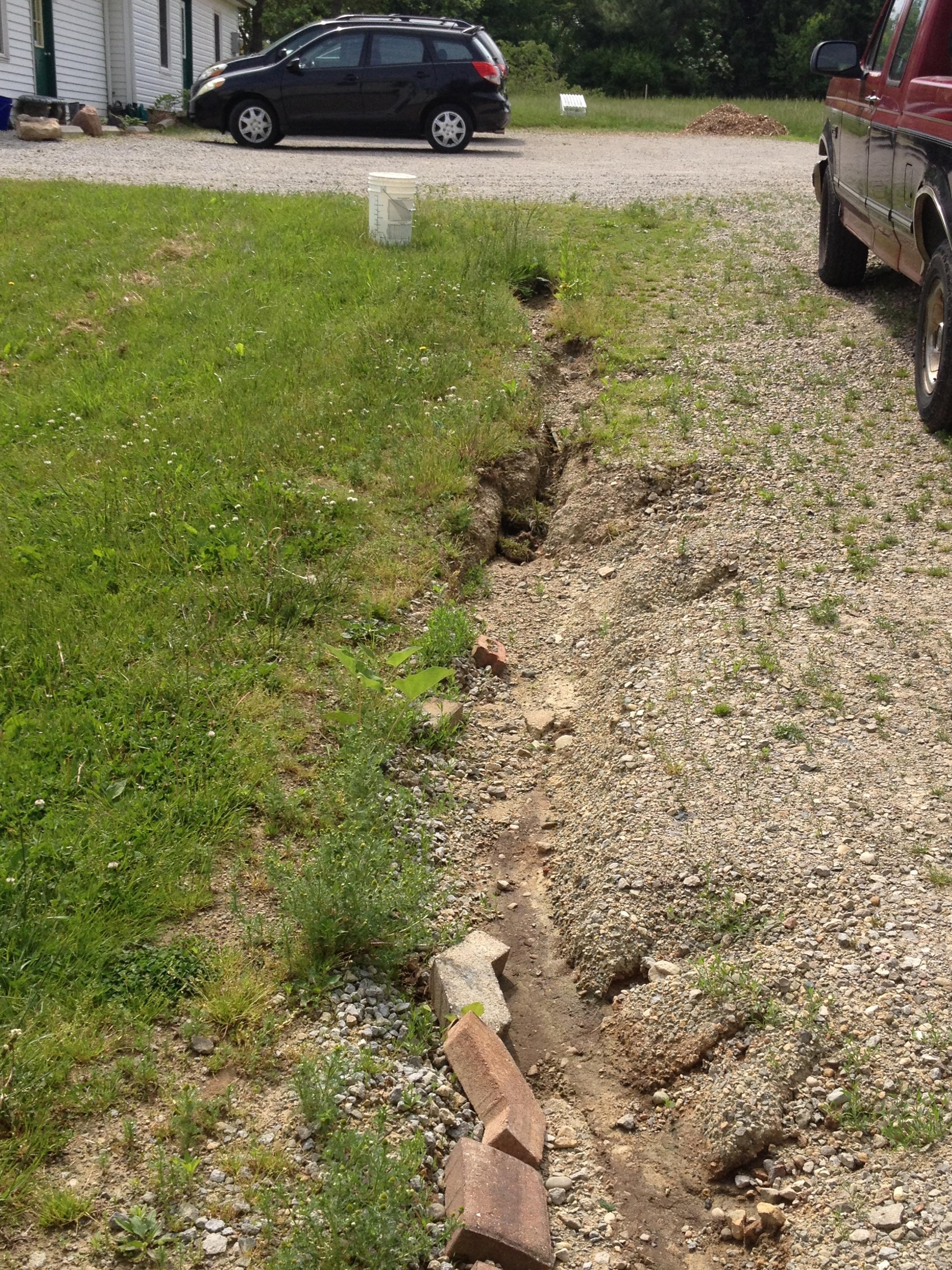 Driveway Erosion