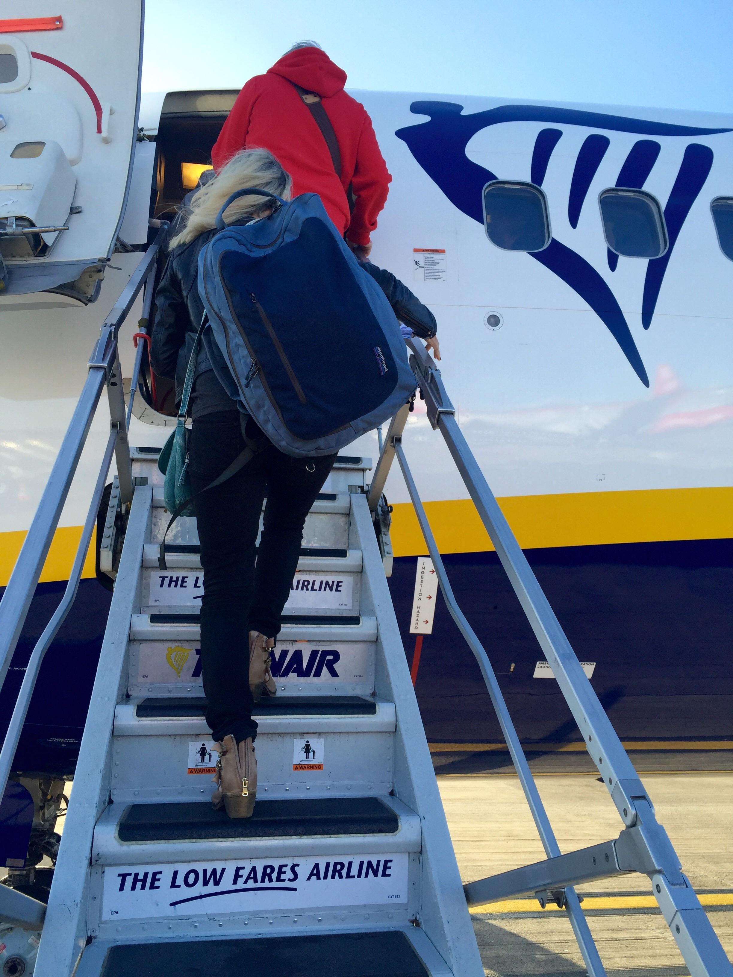 Ryanair...Leeds airport