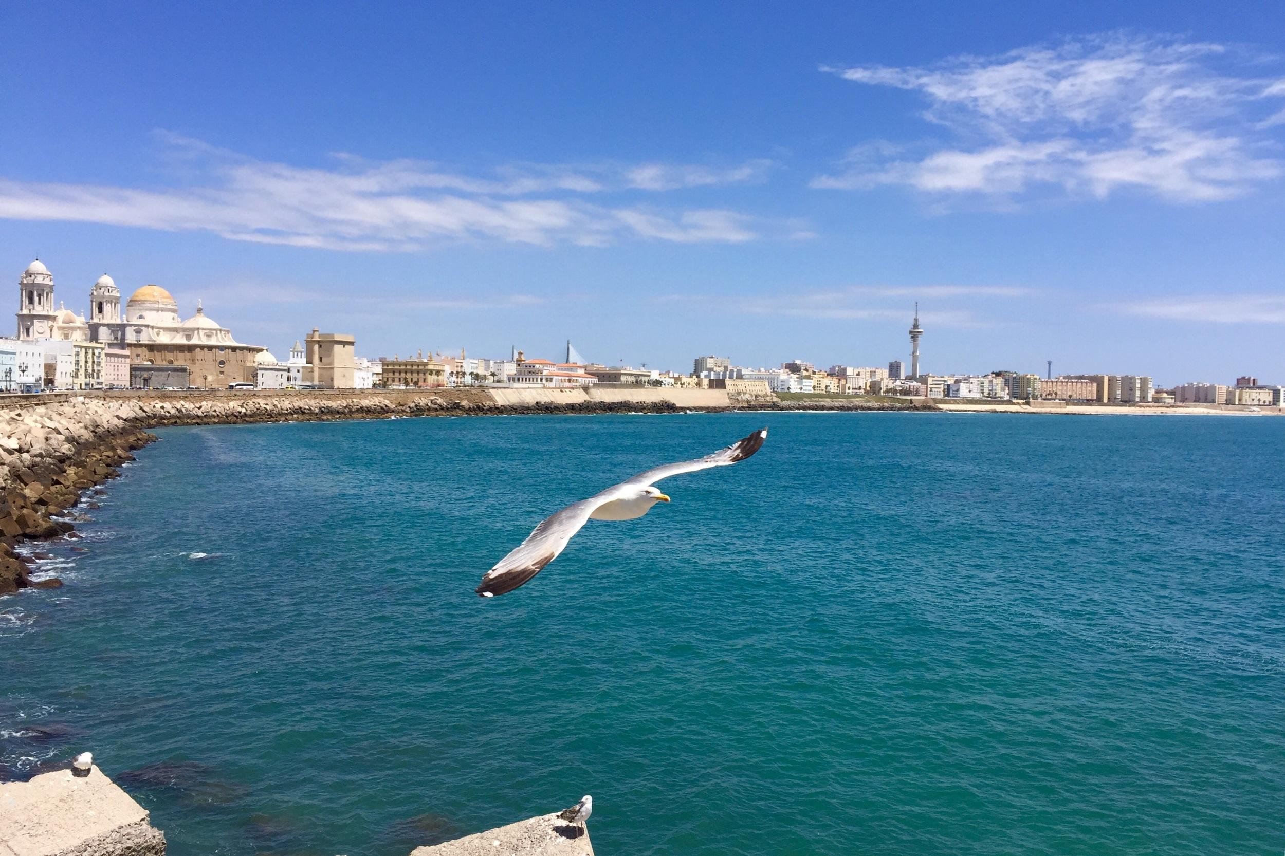 Boardwalk in Cadiz