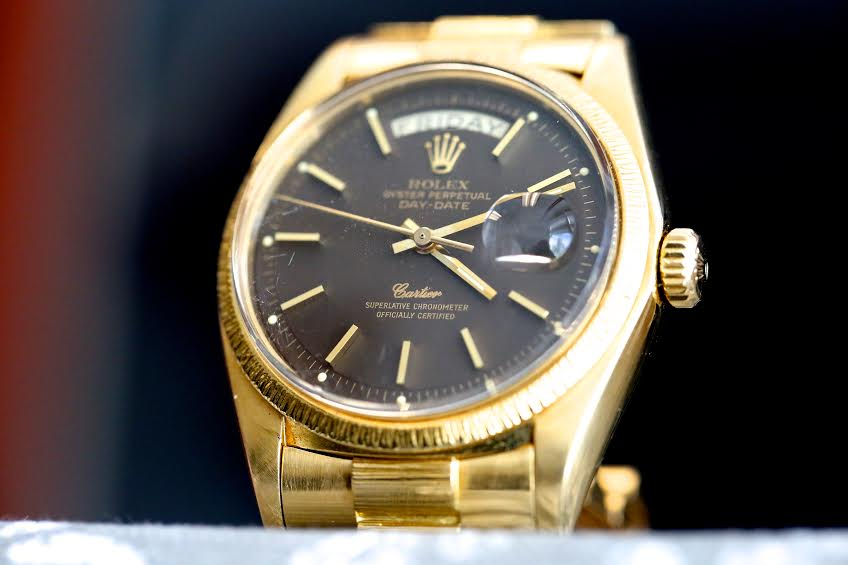 Rolex Day Date w/ Cartier Signed Dial