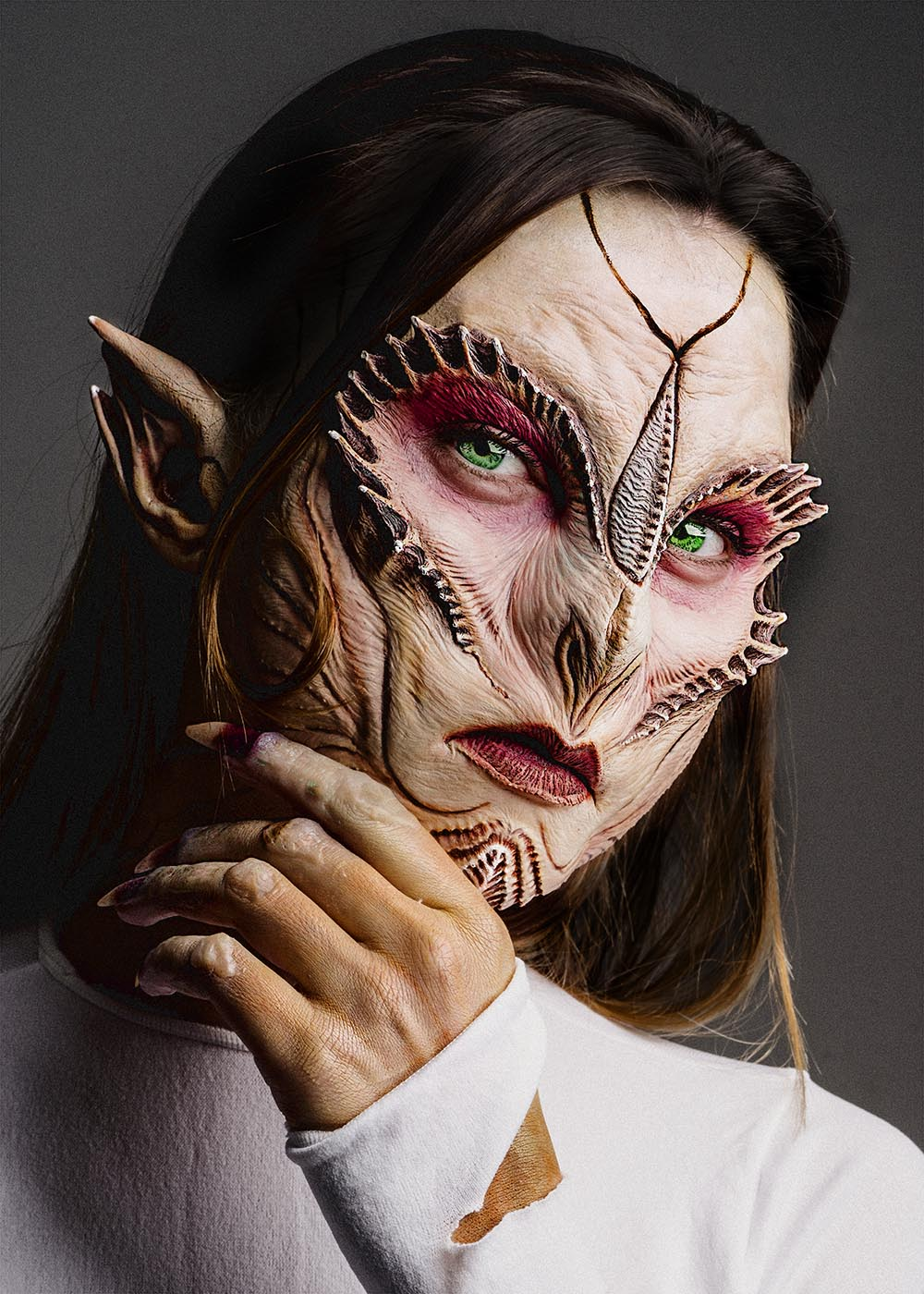 Special Effects Makeup Cl With Kit