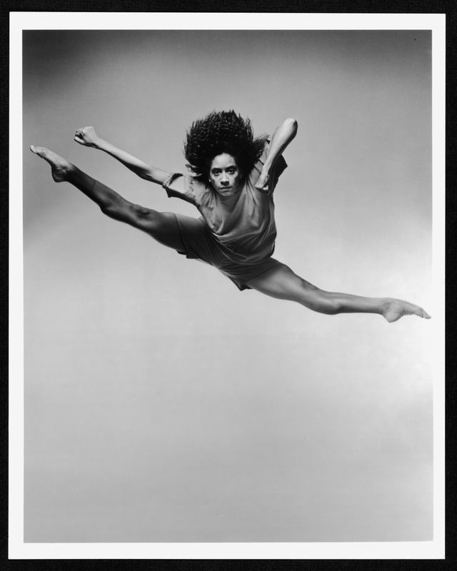 Former Alvin Ailey company member/Mohn mentor Toni Pierce. Photo by Jack Mitchell.