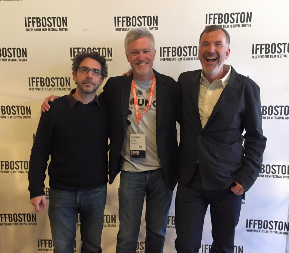 Apr 28 - Fantastic sold-out screening Sunday at the Independent Film Festival of Boston. Thanks to Boston friends and supporters for turning out in droves!